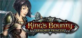 Banner artwork for King's Bounty: Armored Princess.