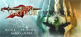 Banner artwork for King Arthur - The Role-playing Wargame.