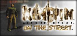 Banner artwork for Kingpin  Life of Crime.