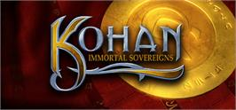Banner artwork for Kohan: Immortal Sovereigns.