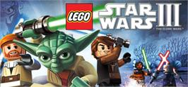Banner artwork for LEGO® Star Wars® III: The Clone Wars.