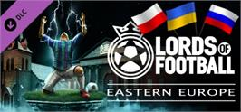 Banner artwork for Lords of Football: Eastern Europe.