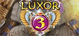 Banner artwork for Luxor 3.