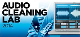 Banner artwork for MAGIX Audio Cleaning Lab 2014.