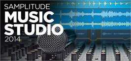 Banner artwork for MAGIX Samplitude Music Studio 2014.