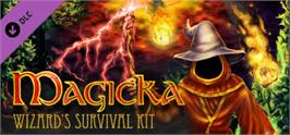 Banner artwork for Magicka: Wizard's Survival Kit.
