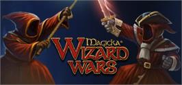 Banner artwork for Magicka: Wizard Wars.