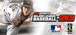 Banner artwork for Major League Baseball 2K9.