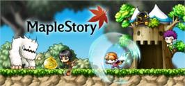 Banner artwork for MapleStory.