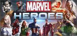 Banner artwork for Marvel Heroes.