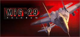 Banner artwork for MiG-29 Fulcrum.