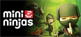 Banner artwork for Mini Ninjas.