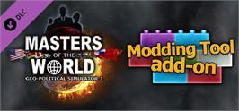 Banner artwork for Modding Tool Add-on for Masters of the World.