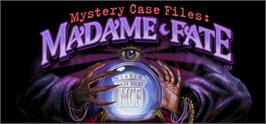 Banner artwork for Mystery Case Files: Madame Fate.