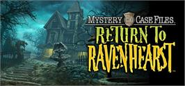 Banner artwork for Mystery Case Files: Return to Ravenhearst.