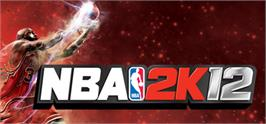 Banner artwork for NBA 2K12.