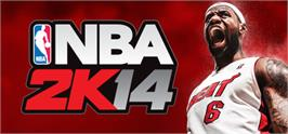 Banner artwork for NBA 2K14.