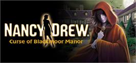 Banner artwork for Nancy Drew®: Curse of Blackmoor Manor.