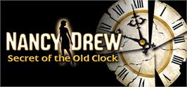 Banner artwork for Nancy Drew®: Secret of the Old Clock.