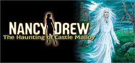Banner artwork for Nancy Drew®: The Haunting of Castle Malloy.