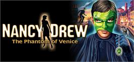 Banner artwork for Nancy Drew®: The Phantom of Venice.
