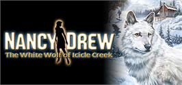 Banner artwork for Nancy Drew®: The White Wolf of Icicle Creek.