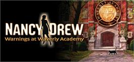 Banner artwork for Nancy Drew®: Warnings at Waverly Academy.