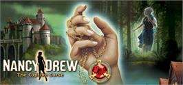 Banner artwork for Nancy Drew: The Captive Curse.