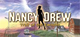 Banner artwork for Nancy Drew: Trail of the Twister.