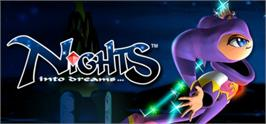 Banner artwork for NiGHTS Into Dreams.