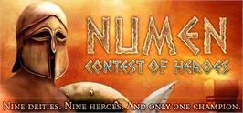 Banner artwork for Numen: Contest of Heroes.