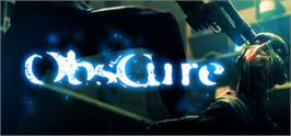 Banner artwork for Obscure.