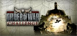 Banner artwork for Order of War: Challenge.