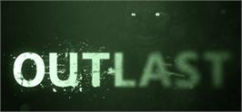 Banner artwork for Outlast.