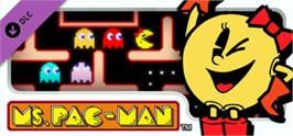 Banner artwork for PAC-MAN MUSEUM - Ms. PAC-MAN DLC.