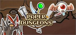 Banner artwork for Paper Dungeons.