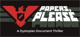 Banner artwork for Papers, Please.