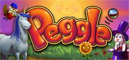 Banner artwork for Peggle Deluxe.