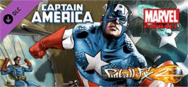 Banner artwork for Pinball FX2 - Captain America Table.