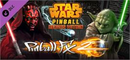 Banner artwork for Pinball FX2 - Star Wars Pinball: Heroes Within Pack.