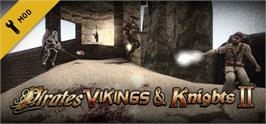 Banner artwork for Pirates, Vikings, and Knights II.