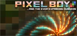 Banner artwork for Pixel Boy and the Ever Expanding Dungeon.