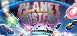 Banner artwork for Planet Busters.