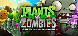 Banner artwork for Plants vs. Zombies GOTY Edition.