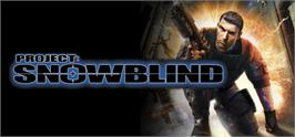 Banner artwork for Project: Snowblind.