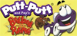 Banner artwork for Putt-Putt® and Pep's Balloon-o-Rama.