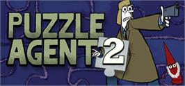 Banner artwork for Puzzle Agent 2.