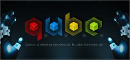 Banner artwork for Q.U.B.E..
