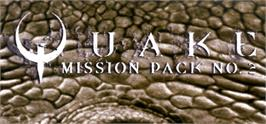 Banner artwork for QUAKE Mission Pack 2: Dissolution of Eternity.