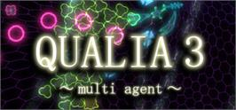 Banner artwork for QUALIA 3: Multi Agent.